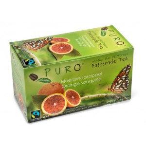 PURO, Fair-trade tea - Blood orange