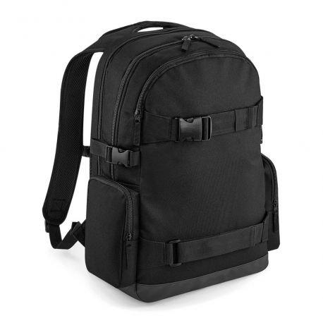 BAG BASE - backpack with transport straps for skateboard, 23l