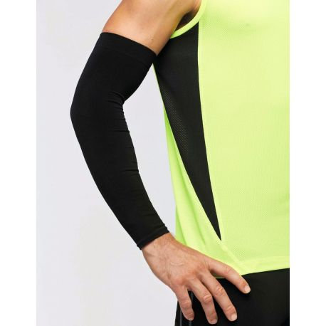 Seamless compression sleeve, comfortable, UV protection 40+