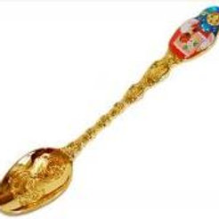Russia - spoon with a russian doll