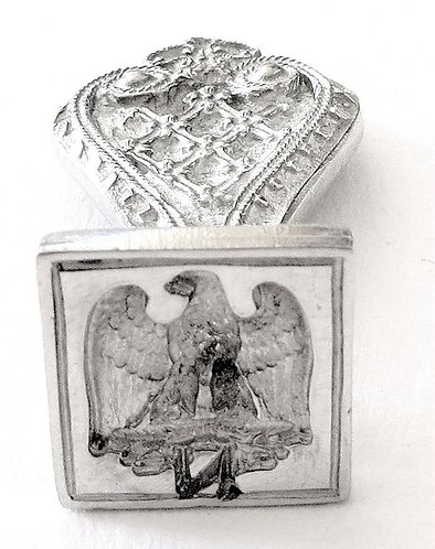 "Tin seal ""imperial eagle"""