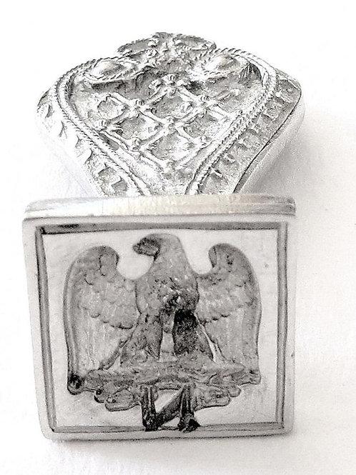 """Tin seal """"imperial eagle"""""""