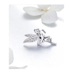 Sterling silver 925 earrings, fairies
