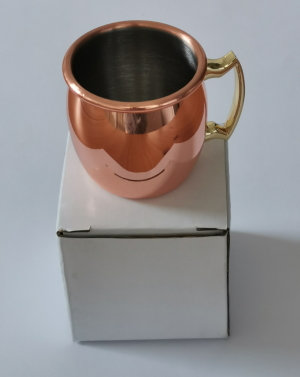 Cups for Moscow mules, small model (60 ml)