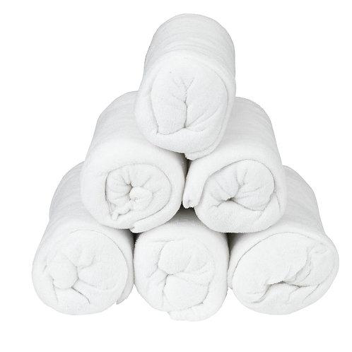 Drap-housse en tissu éponge