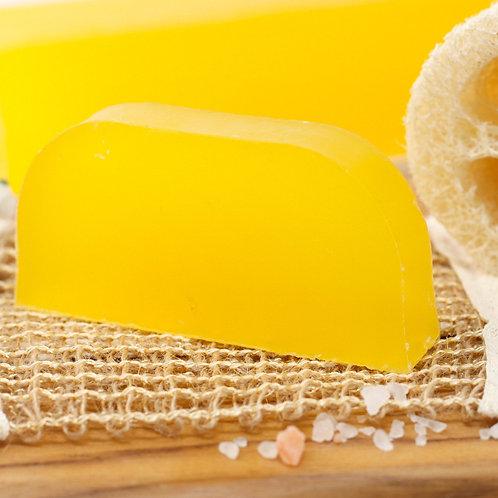Shampoing solide à l'huile d'argan - Camomille & citron (cheveux clairs)