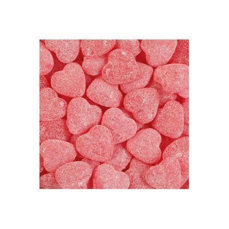 Haribo raspberry hearts