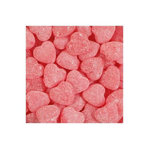 Haribo cœurs framboises