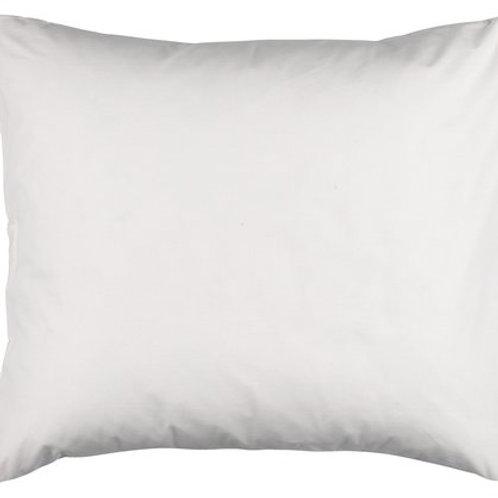White pillowcase 100 % cotton (60 x 63 cm)