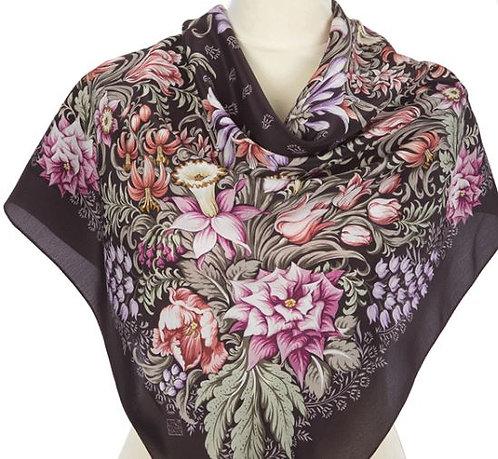 Russie - foulard carré en soie