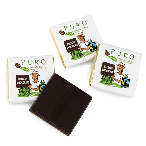 Puro, Small fair-trade chocolates - pure neapolitan