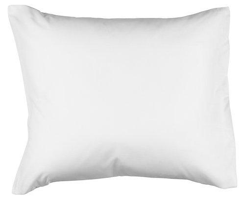 White pillowcase 100 % cotton (60 x 63cm)