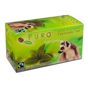 PURO, Fair-trade tea - Earl grey