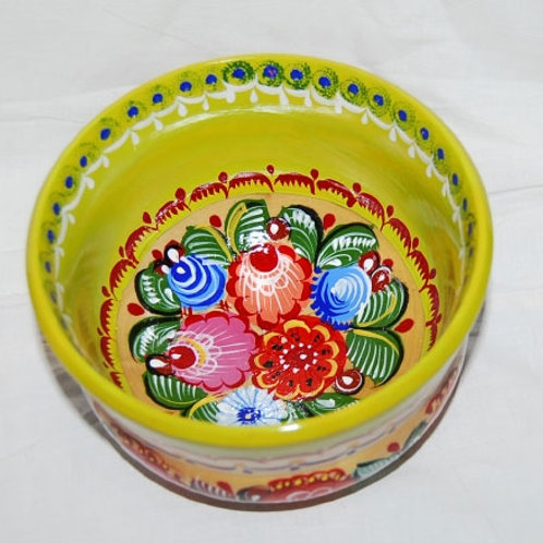 Russia - wooden bowl from Gorodetz