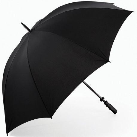 Large golf style umbrella, ergonomic handle
