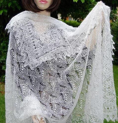 Russia - Orenburg shawl, high-class