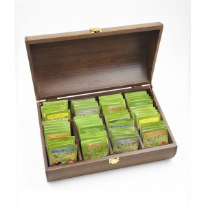 PURO, Bamboo tea box