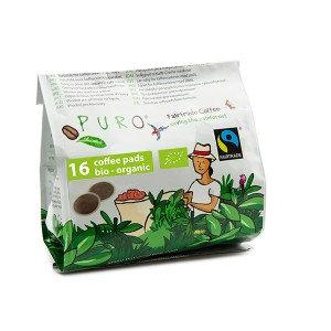 PURO, Pods of organic coffee