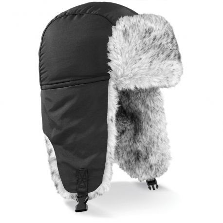 Very warm sherpa chapka and lined with synthetic fur