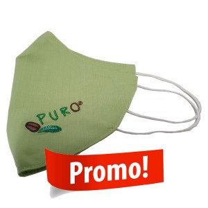 PURO, Cloth mask - light green