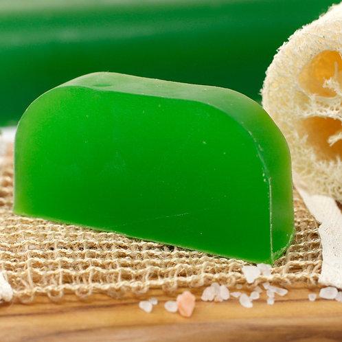 Shampoing solide à l'huile d'argan - Thym & menthe (pellicules)