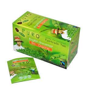 PURO, Fair-trade tea - English breakfast