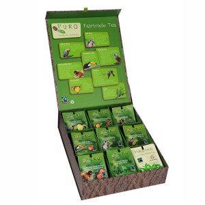 PURO, Luxury box for tea presentation