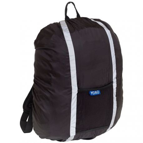 Reflective and waterproof protective cover for backpacks