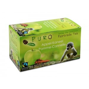 PURO, Fair-trade tea - Apple-cinnamon