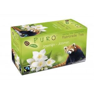 PURO, Fair-trade tea - Jasmine green tea