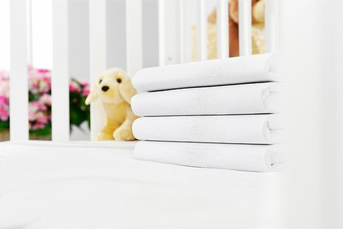 KRONBORG - Jersey fitted sheet 100% cotton for babies