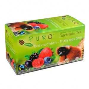 PURO, Fair-trade tea - Forest fruits
