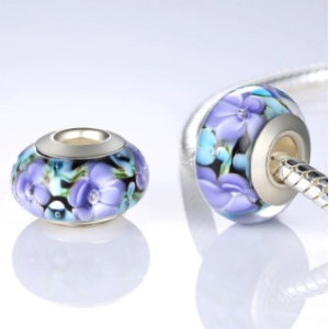 Glass beads charm from Murano