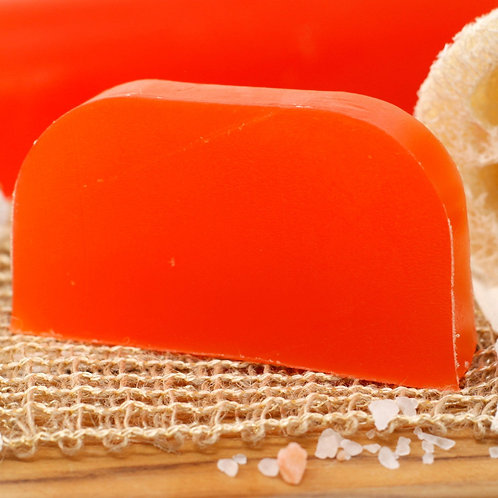 Solid shampoo with argan base - Sage & juniper (dark hair)