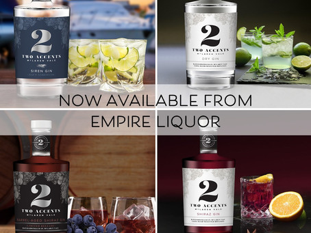Some big news for Two Accents Gin!