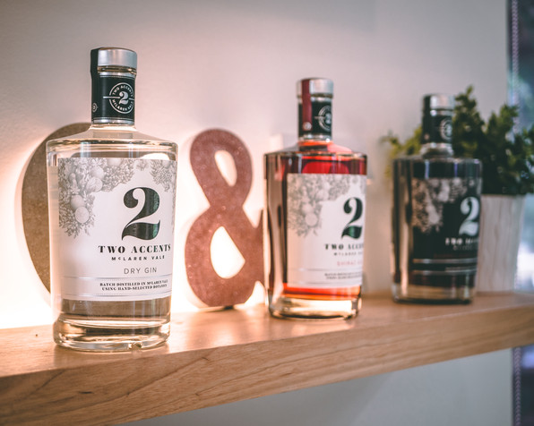 Gin Display Featuring Dry Gin by Ben Adl