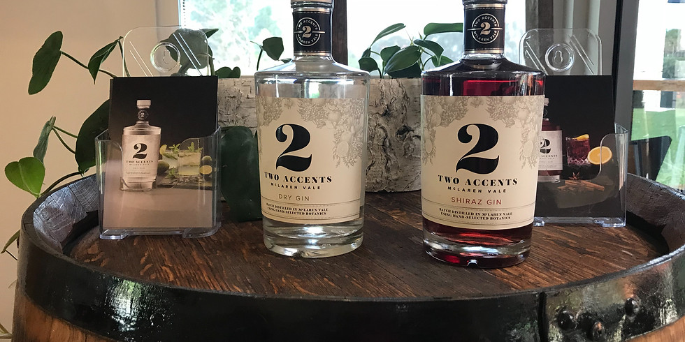 Two Accents Gin Tasting Belair Fine Wines Belair SA