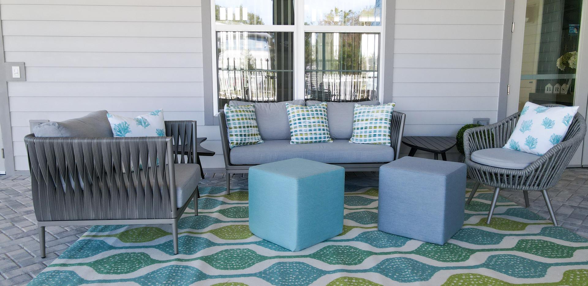 Outdoor patio space