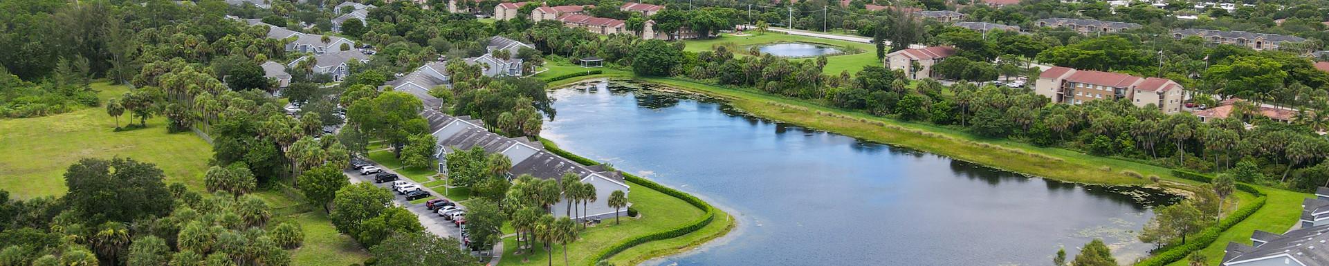 Apartment Aerial Photo