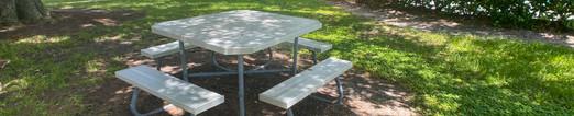 Outdoor Picnic Benches