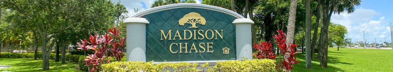 Madison Chase Welcome Sign