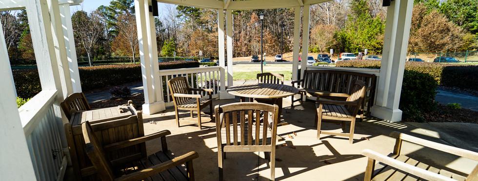 Prosperity Creek Outdoor Seating