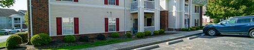 Exterior View of Apartment Units