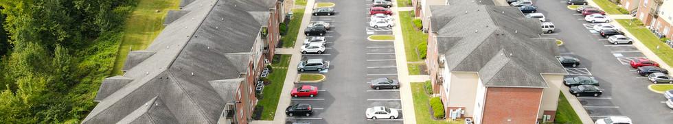 Hallmark Apartments Aerial Photo