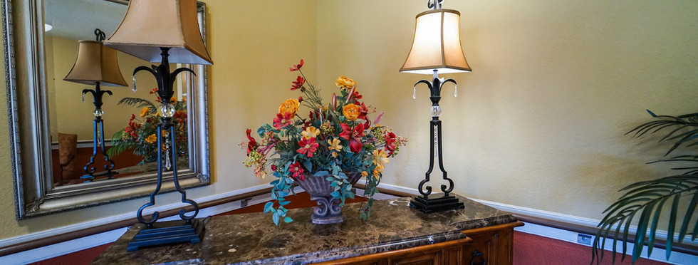 Propserity Creek Interior Community Room Decorations