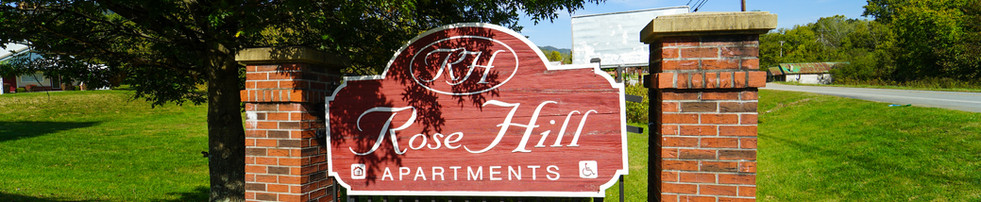 Rose Hill Welcome Sign