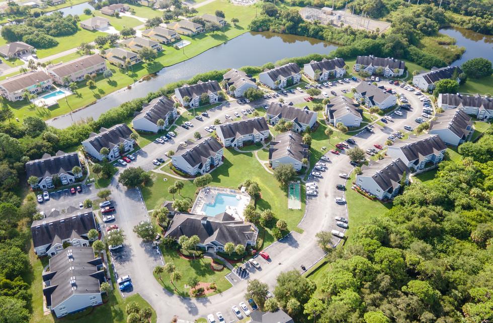 Rotonda Lakes Aerial View