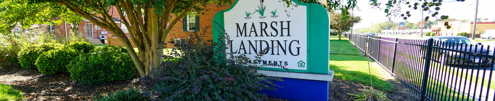 Marsh Landing Welcome Sign