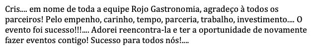 Rojo Gastronomia