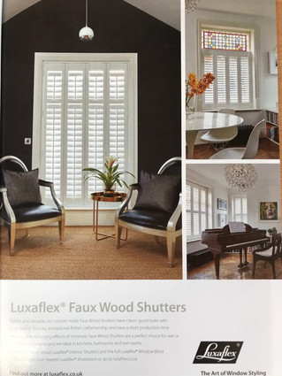 Starting Monday 1st April - 20% off Interior Shutters!